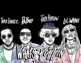 Whats Poppin - Jack Harlow Featuring DaBaby, Tory Lanez & Lil Wayne